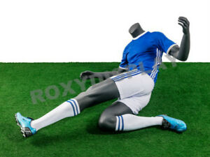 Male Fiberglass Headless Athletic Style Mannequin Dress Form Display mz tq5