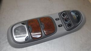 Ford Excursion Overhead Top Roof Console Map Light Display Grey Gray Wood Trim