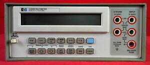 Hp Agilent Keysight 3468b Multimeter