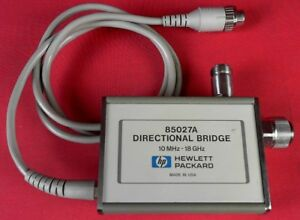 Hp Agilent Keysight 85027a Directional Bridge 10 Mhz To 18 Ghz