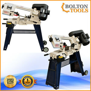 4 X 6 Inch Band Saw Horizontal Vertical Metal Cutting Bandsaw Free Shipping