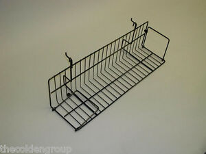 10 Planet Racks 23 1 2 Video Shelves For Gridwall slatwall pegboard 2 Colors