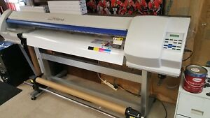 Roland Sp 540v 54 Eco Solvent Wide Format Vinyl Printer