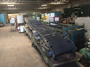 Olson 16 Powered Belt Conveyor With Forward And Reverse Good Condition Used