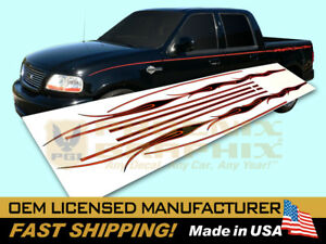 Compatible With 2002 Ford Harley Davidson F150 Truck Flames Decals Stripes