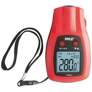 Pyle Pmir15 Mini Infrared Thermometer With Laser Pointer