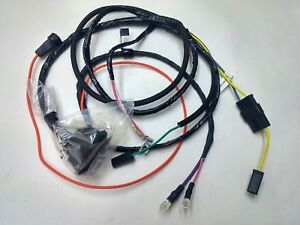 1965 1966 Chevelle El Camino Engine Wiring Harness With Gauges 283 327