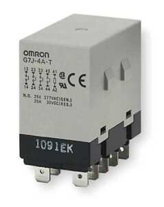 Enclosed Power Relay 10pin 24vac 4pst no Omron G7j 4a t w1 ac24