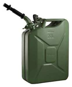 Wavian 2238c Gas Can 5 Gal green include Spout