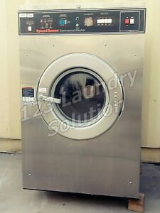 Speed Queen Front Load 27 Lbs Washer 208 240v Sc27mn2au10001 Used
