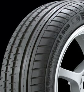 Continental 03520850000 Contisportcontact 2 Ssr 225 45 17 Tire Set Of 4