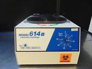 The Drucker Company Laboratory Centrifuge Model 614b Powers On Spins Rh180b
