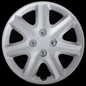 15 Set Of 4 Wheel Covers Snap On Full Hub Caps Fit R15 Tire Steel Rim Hubcaps