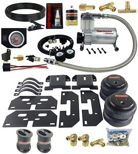 Air Tow Assist Load Level Kit On Board 2003 13 Dodge Ram 8 Lug Truck Lifted 6