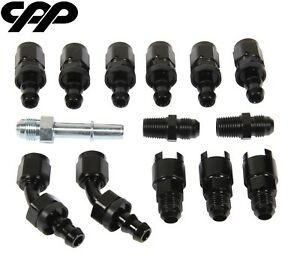 Cpp Complete Ls Conversion Fuel Injection Line Fitting Kit Efi Fi