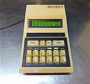Modulus Data Systems 10 312 Differential Cell Counter Diffcount S3141b