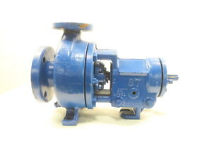 Goulds 3196 St Iron Centrifugal Pump 1 1 2x3in
