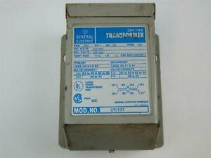 General Electric 9t51b7 Dry Type Transformer 25kva 240 480x120 240 1ph