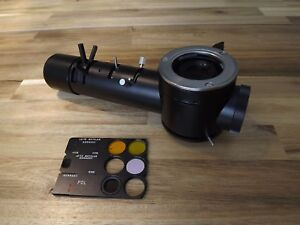 Leitz 1 25x Pol Fluorescence Polarizing Illuminator With Filters