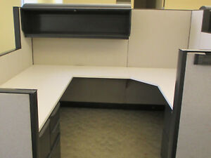 Used Office Cubicles Haworth Premise Cubicles 8x7 5