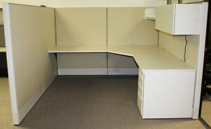Used Office Cubicles haworth Premise Enhanced Cubicles 7 5x8