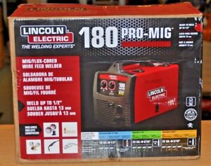 Lincoln Electric 180 Pro Mig Welder K2481 1 Brand New Free Shipping