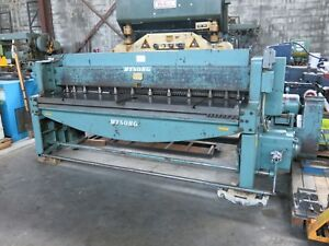 Wysong 8 Of 10ga Shear With Squaring Arm