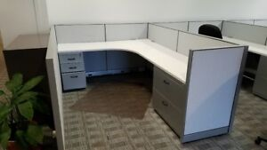 Used Office Cubicles Steelcase Workstations 6x8
