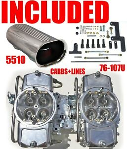 Demon Mad 650 b2 650 Cfm Gas Blower Supercharger Carbs With Lines Linkage Combo