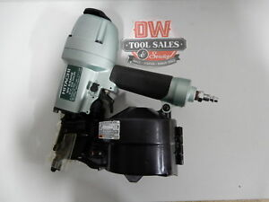 Hitachi Coil Nailer 2 1 2 reconditioned Siding Fence Deck Hardie Board Nv6