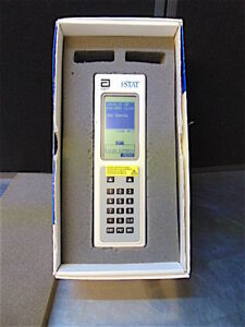 I stat Portable Clinical Analyzer new Batteries in Original Box manual s3144b