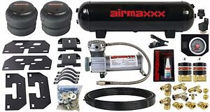 Air Tow Assist Kit Black Gauge Management Tank 2003 13 Dodge Ram 2500 3500