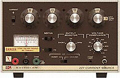 Keithley 227 Current Source 1000ua To 1000ma Full Scale In 4 Ranges