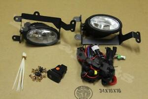 2006 2008 Civic 2dr Coupe Clear Bumper Driving Fog Lights Pair W Lamp