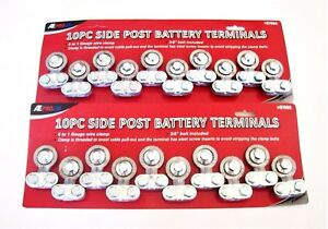 20 Ate Professional Heavy Duty Side Post Replacement Battery Terminals 87000