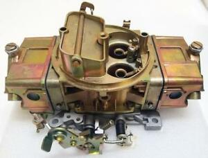Return 850 Carb Holley Style 850hp 4 Barrel Double Pump Pumper Carburetor As Is