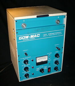 Gow mac Gas Chromatograph Series 350 Thermal Conductivity Detector 115vac 60hz