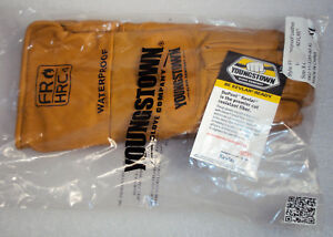 Youngstown Fr Hrc4 Waterproof Leather Utility Gloves Size Xl W Kevlar X large