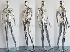 Free Shipping Female Plastic Mannequin Display Head Turns ps sf1sceg