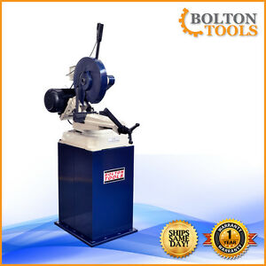 14 Inch Abrasive Chop Saw With Swivel Base Industrial Saw Stand Included