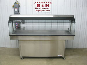 Amfab Ameridiser 6 Chicken Hot Food Merchandiser 76 Heated Display Case Warmer