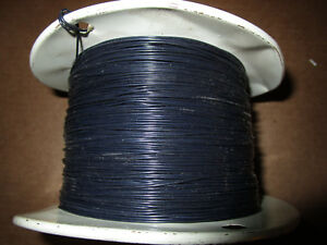 1650 Ft Spool M16878 4 24awg Black Spc Cable Wire 19 36 600v Mil w 16878 4