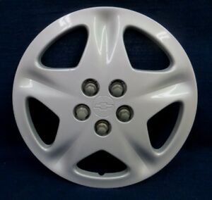 Chevy Cavalier 00 02 15 5 Spoke Silver Wheel Cover Hubcap 1 Oem