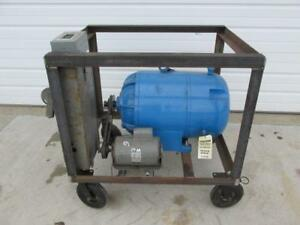 25 Hp Rotary Phase Converter Single To 3 Phase W cart