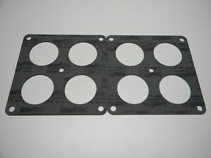 Holley 108 102 2 055 2 Dominator 4 Hole Flange Gasket 950 1150 Cfm 2 Pack