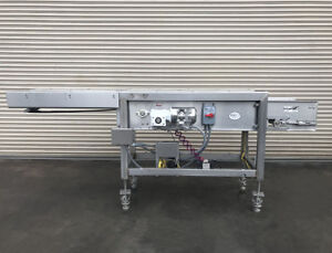10 X 128 Long Stainless Expandable Food Conveyor