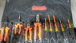 Cementex Tr 9elk Insulated Electricians Tool Kit 9 Piece 1000 Volt