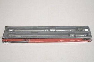 New Snap On 305asx 1 2 Dr 5 Piece Extension Set 2 3 5 8 11
