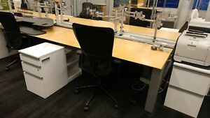 Used Office Cubicles Knoll Benching Workstations
