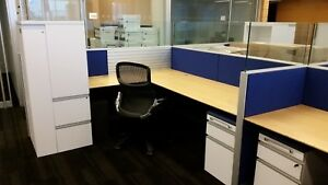 Used Office Cubicles Knoll Autostrada Cubicles 7x7